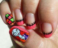 Hand painted Nightmare Before Christmas. | Nail art ...
