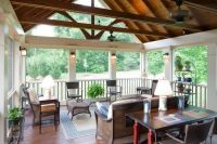 vaulted porch ceilings | Beams with vaulted ceiling ...