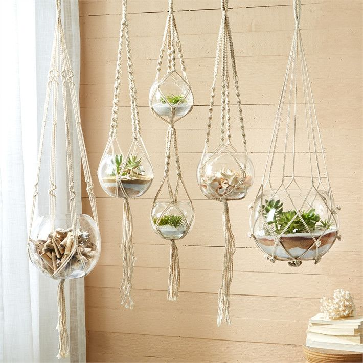 Indoor Hanging Basket Rope