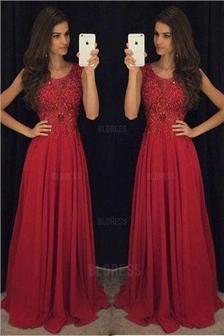 Rotes kleid a linie  Modische Damenkleider