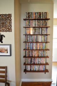 25+ best ideas about Dvd storage solutions on Pinterest
