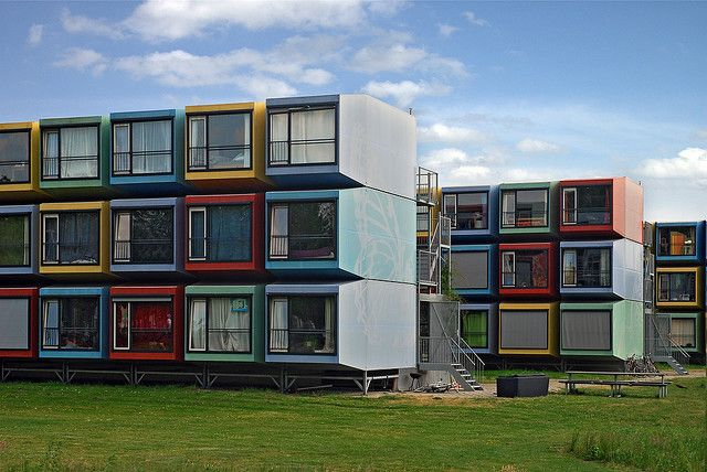 Stacking Students  Student house Utrecht and Architects