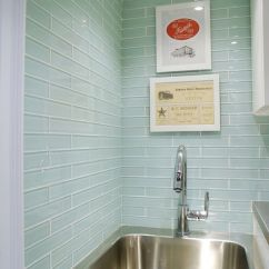Kitchen Stainless Steel Sinks Turquoise Cabinets Rambling Renovators: Laundry Room With Gorgeous Miki Solid ...