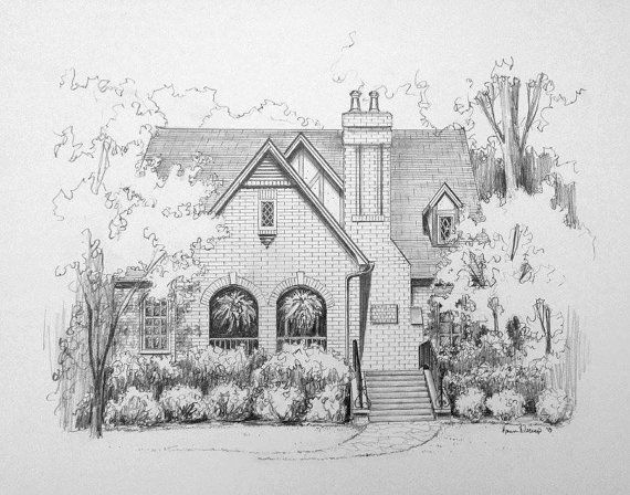 17 Best Ideas About House Sketch On Pinterest House