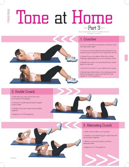 do this ab workout while using your slim belly system for fast