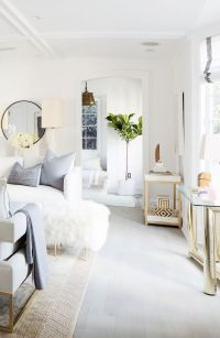 All White Living Room Decor