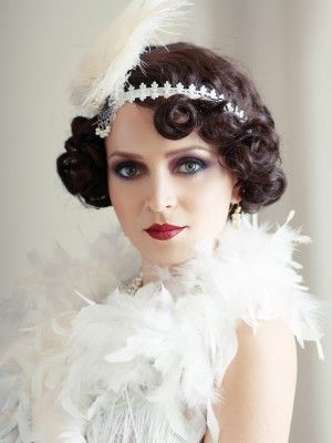 25 Best Ideas About Flapper Hairstyles On Pinterest Gatsby Hair