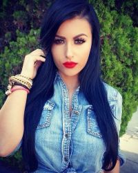 17 Best ideas about Blue Black Hair Color on Pinterest