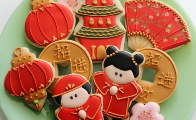 54 Best Cookies Asian Theme Images On Pinterest