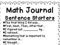 1000+ images about Math Journal Ideas on Pinterest
