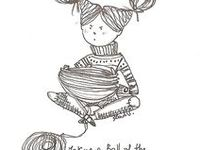 20 best Knit and Crochet Illustrations images on Pinterest