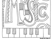 40 best Piano Lessons: Coloring Pages images on Pinterest