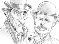 1000+ images about Drawings of Sherlock Holmes on