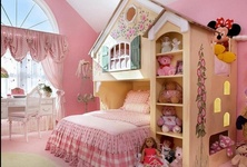 Save space … small bedroom for three kids
