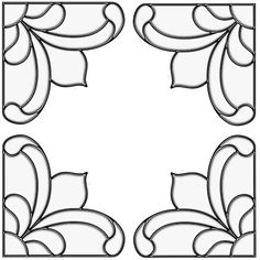 Stained Glass Lace Curtain PAIR Gingerbread Trim Corners