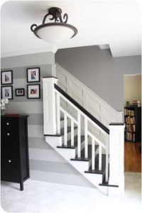 Craftsman Style Open Staircase by Wayne Homes, via Flickr ...