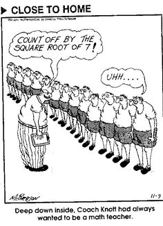 1000+ images about math cartoons and jokes on Pinterest