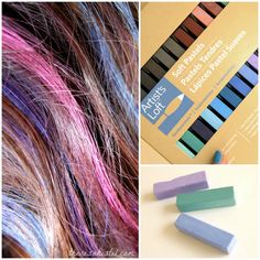hair chalking tips ooooo i need to some hair chalk beauty and hair and yeh