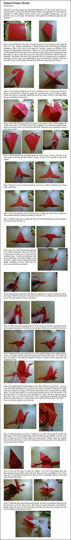 Origami Diagrams Embroidery Origami Http Jewswar Com 12 Dragon Origami