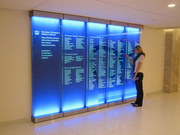 Directory Signage Wayfinding And Retail Sign System