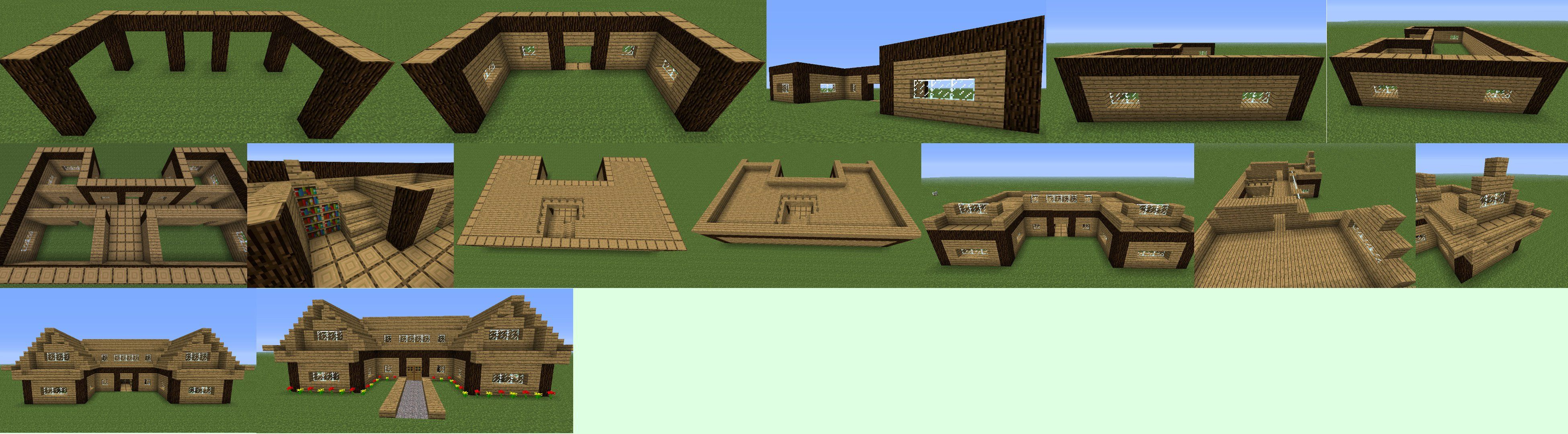 Minecraft Houses Step By Step Google Search Minecraft House