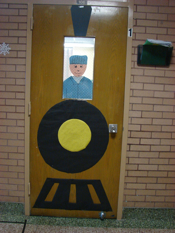 Polar Express Door