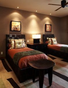 Bed design also bedroom african safari decor pictures remodel and rh pinterest