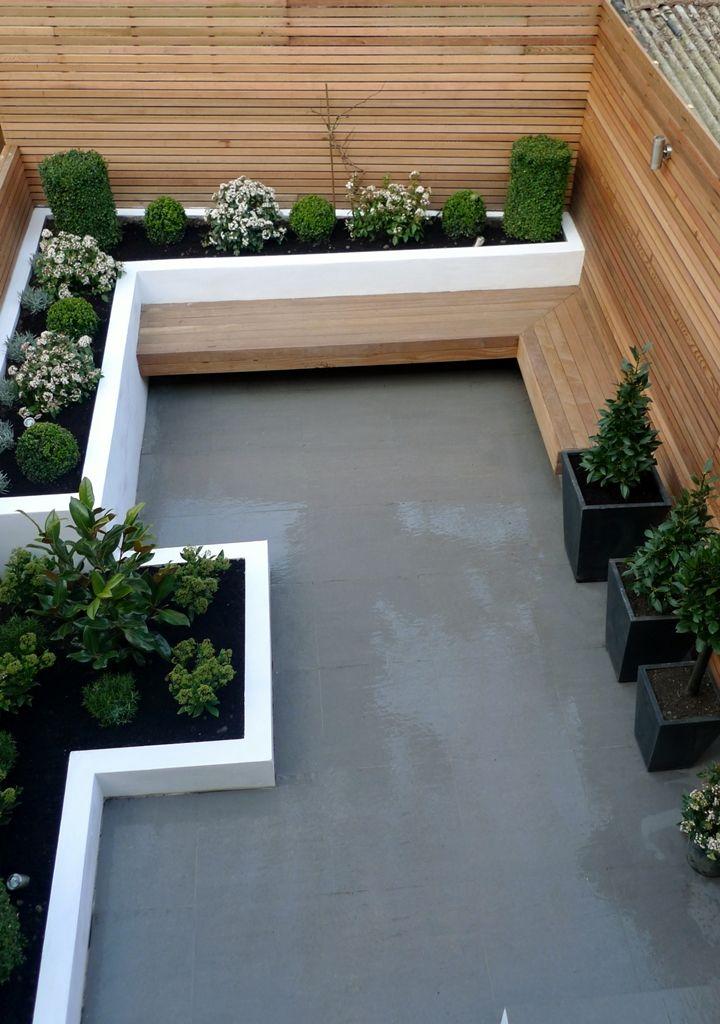 Small Modern Garden Design Photograph Gardens Anewgarden D