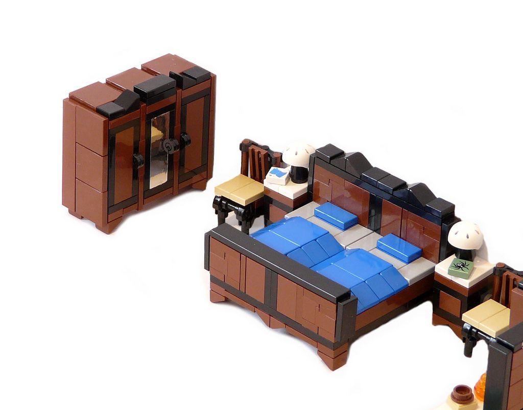 LEGO Furniture For Your LEGO House A Lego A Day #LEGO Lego
