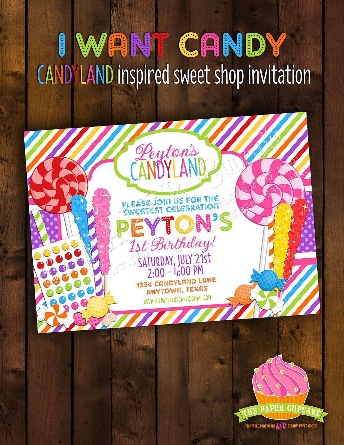 Diy Candy Theme Party Google Search Party Animals