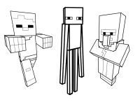 Printable coloring pages - Minecraft (Video Games) | Video ...