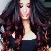 dark red hair color ideas