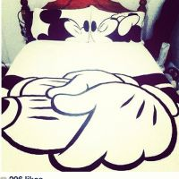 Minnie and mickey couple bed set | Home | Pinterest ...