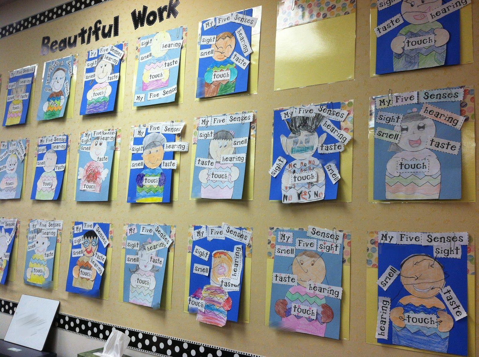 The Five Senses Crafts For Preschool