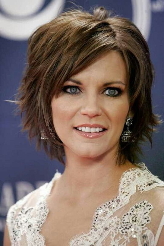 Medium To Short Length Haircuts For Square Faces Google Search