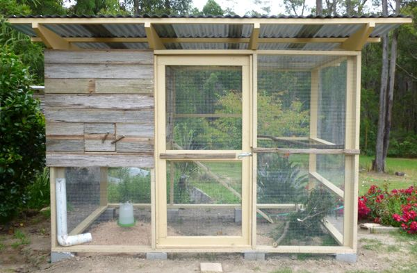 Colin And Faye In Mirboo North Australia Used The Garden Coop