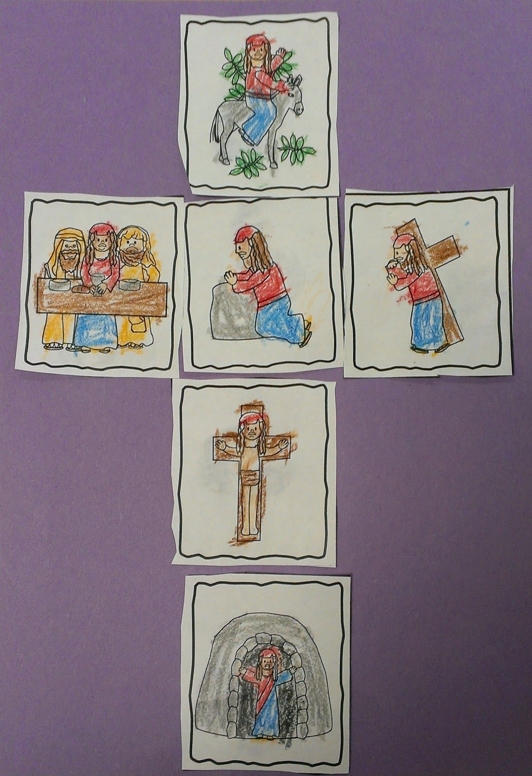 Faith Filled Freebies Free Easter Writing Prompt And Sequencing Cards