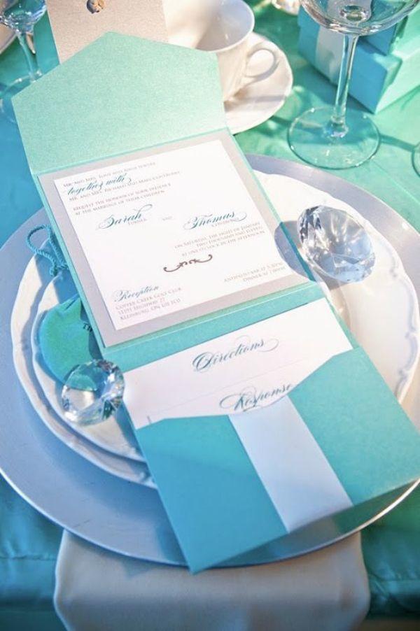 Tiffany Wedding Invitations