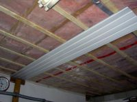 Corrugated metal ceiling questions