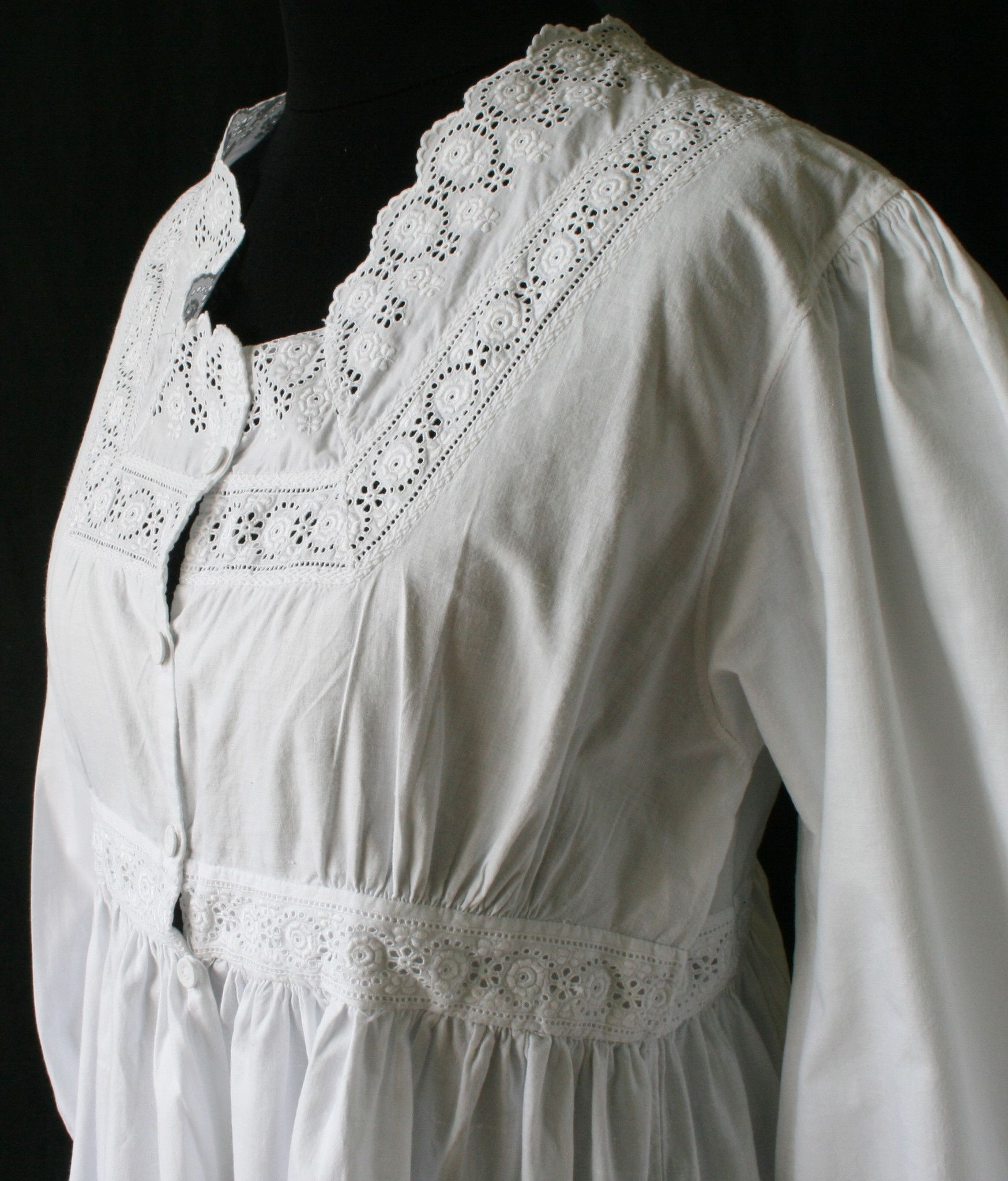 victorian nightgown pattern