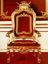 Stanislas August of Poland throne chair, 1764, Royal ...
