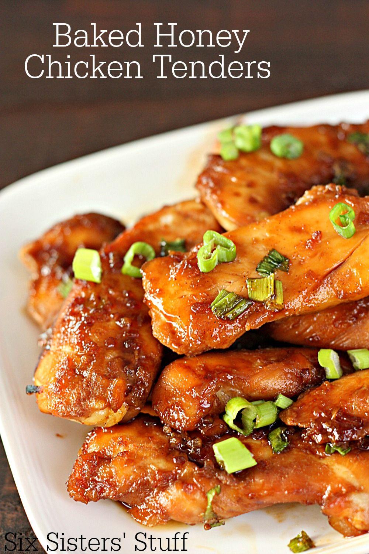 Baked honey chicken tenders recipe honey chicken and