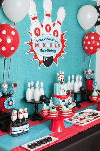 Retro Bowling Birthday Party | party  | Pinterest ...