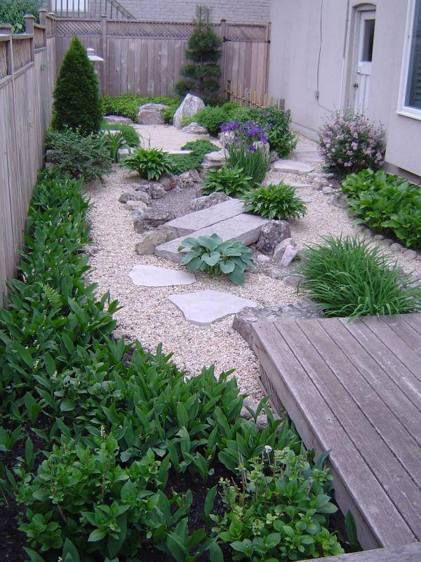 japanese garden - dry stream &