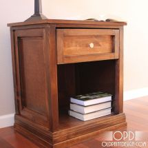 Make Bedside Table With Detailed Step