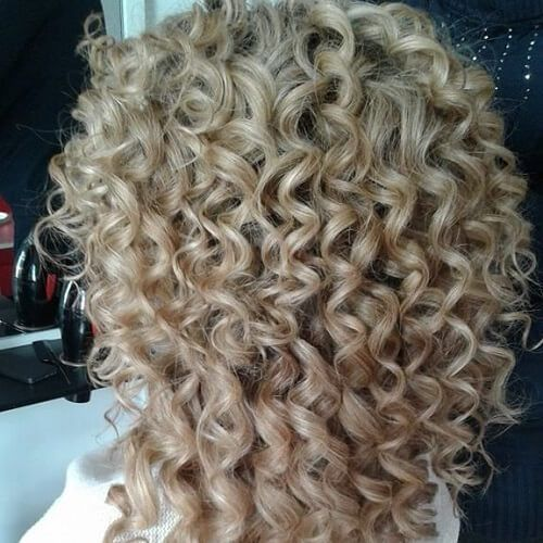 Sweet Spiral Perm Hair Cutting Techniques Pinterest