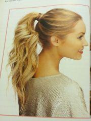 fancy ponytail hair