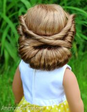 wrapped headband updo american