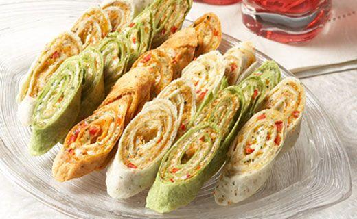 Appetizer Recipes Tortilla Wrap