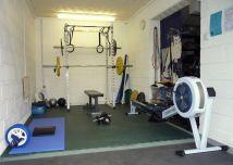 Small Garage Home Gym Design